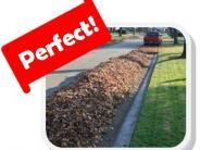 Perfect windrow